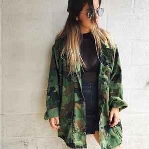 LF Vintage Camo Jacket